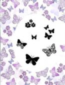 Card-io Majestic Clear Peg Stamp Set - Flutterby Garden - CDMAFL-01